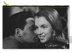 Carry-all Pouch featuring the photograph Young Marilyn Monroe by R Muirhead Art