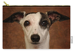 Young Whippet Carry-all Pouch by Greg Mimbs