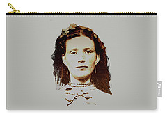 Young Woman Of Olden Times Carry-all Pouch