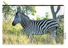 Young Zebra Carry-all Pouch