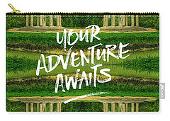 Your Adventure Awaits Temple Of Love Versailles Paris Carry-all Pouch