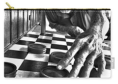 Your Move Dad Bw Art Carry-all Pouch