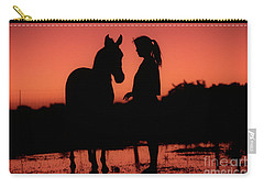 Carry-all Pouch featuring the photograph Youth by Jim and Emily Bush