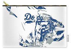 Yu Darvish Los Angeles Dodgers Pixel Art 5 Carry-all Pouch
