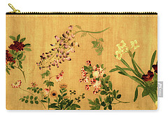 Yuan's Hundred Flowers Carry-all Pouch