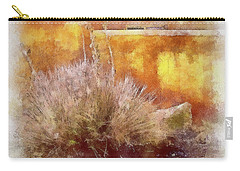 Yucca And Adobe In Aquarelle Carry-all Pouch