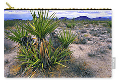 Yucca And Cinder Cones Carry-all Pouch