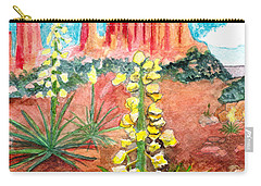 Yucca In Monument Valley Carry-all Pouch