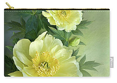 Yumi Itoh Peony Carry-all Pouch by Thanh Thuy Nguyen