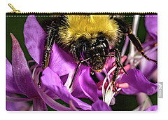 Carry-all Pouch featuring the photograph Yummy Pollen by Darcy Michaelchuk