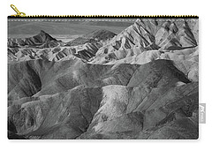 Zabriskie Point Portrait Carry-all Pouch by Marius Sipa