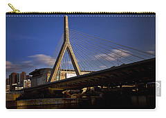 Zakim Bridge And Boston Garden At Sunset Carry-all Pouch
