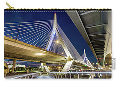 Zakim Bridge From Bridge Under Another Bridge Carry-all Pouch