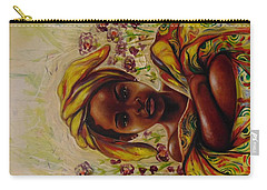 Carry-all Pouch featuring the painting Zakkiyya by Emery Franklin