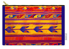 Zapotec Colors Carry-all Pouch