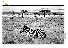 Zebra And Friend Carry-all Pouch