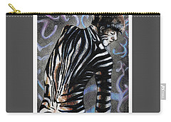 Zebra Boy At Dawn Carry-all Pouch