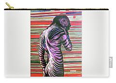 Zebra Boy Battle Wounds Carry-all Pouch