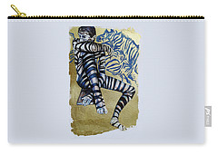 Zebra Boy The Lost Gold Drawing  Carry-all Pouch
