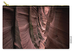 Carry-all Pouch featuring the photograph Zebra Canyon by Edgars Erglis