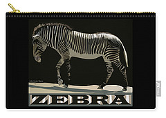 Zebra Design By John Foster Dyess Carry-all Pouch