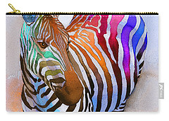 Zebra Carry-All Pouches