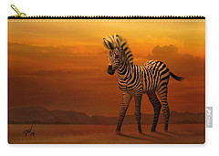 Zebra Fawn  Carry-all Pouch