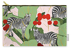 Zebra Harem Carry-all Pouch by Uma Gokhale