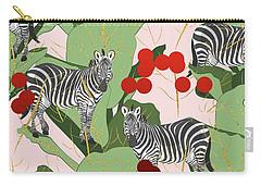 Zebra Harem Carry-all Pouch