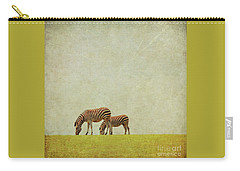 Zebra Carry-all Pouch by Lyn Randle