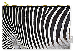 Zebra Pattern Carry-all Pouch