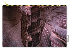 Carry-all Pouch featuring the photograph Zebra Stripes by Edgars Erglis
