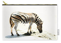 Zebra Stripes Carry-all Pouch by Stephen Mitchell