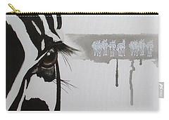 Zebra Tears Carry-all Pouch