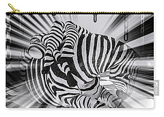 Zebra Time Carry-all Pouch
