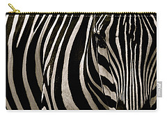 Zebra Up Close Carry-all Pouch