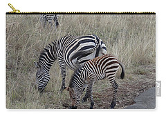 Zebras In Kenya 1 Carry-all Pouch