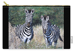 Zebras In South Africa Carry-all Pouch