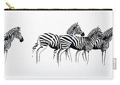 Zebrascape - Original Artwork Carry-all Pouch