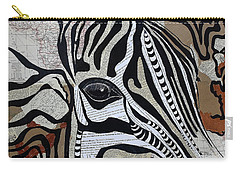 Zebroid Carry-all Pouch