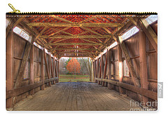 Sycamore Park Covered Bridge Carry-all Pouch