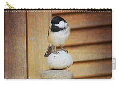 Zen Chickadee Carry-all Pouch