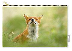 Zen Fox Series - Zen Fox Does It Agian Carry-all Pouch