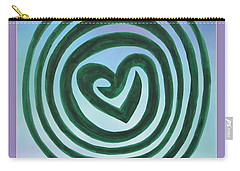 Zen Heart Labyrinth Sky Carry-all Pouch