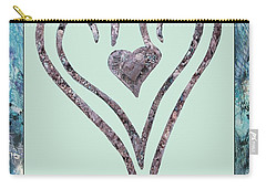 Zen Heart Sedona Labyrinth Carry-all Pouch