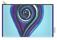 Zen Heart Vortex Wave Carry-all Pouch