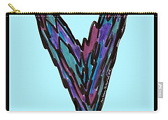 Zen Hearts In Betweens Carry-all Pouch