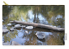 Carry-all Pouch featuring the photograph Zen Scene 1 by Ellen Tully