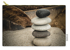 Zen Stones IIi Carry-all Pouch by Marco Oliveira
