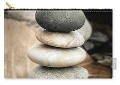 Zen Stones Iv Carry-all Pouch